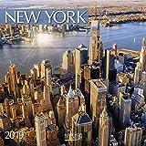 New York 2019 Broschürenkalender: Mit Ferienterminen
