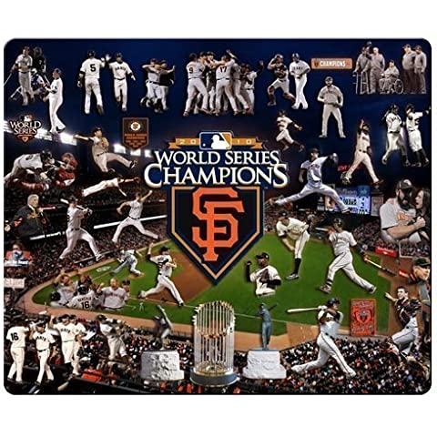 personal gaming mousepads precise cloth nature rubber Mouse Pad design San Francisco Giants MLB baseball logo