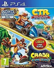 Crash Team Racing Nitro-Fueled + Crash Bandicoot N.Sane Trilogy - PS4 (PS4)