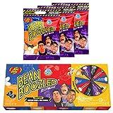 Jelly Belly Bean Boozled Set Glücksrad + drei 54g Tüten Jelly Beans