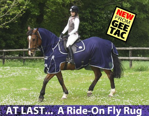 GEE TAC NEW *FLY RIDING RUG,TURNOUT COMBO* FLY MASK, FLY SHEET,HORSE COMBO, (PLEASE EMAIL US YOUR SIZE THOUGH AMAZON) ** 3