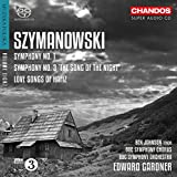 Szymanowski/Symphonies No.1 & 3