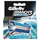 Gillette de rechange des lames de rasoir pour homme. 4lames