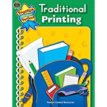 Traditional Printing (Penmanship) by Janet Cain (2002-03-01)