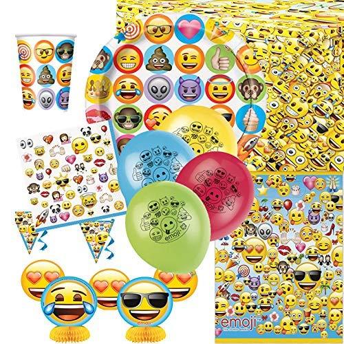 Emoji Ultimate Artículos Para Fiestas Kit para 8