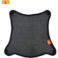winnerruby Motorcycle Seat Cover,Motorbike Scooter Moped Seat Cover Waterproof Dust UV Universal Flexible Seat Protector Waterproof Cover For Most Motorcycle