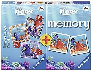 Buscando a Dory - Multipack Memory + 3 Puzzles (Ravensburger 68715)