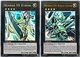 Yu-Gi-Oh! - Numero 39: Utopia + Numero C39: Raggio Utopia - Super Starter V per Vittoria - YS13-IT041 YS13-IT042