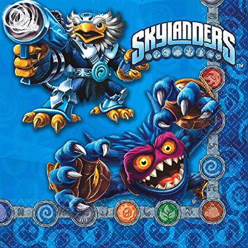 American Greetings Skylanders Lunch Napkins (16 Count) by american Greetings- Toys