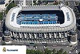 Close Up Real Madrid Stadion Poster Estadio Santiago