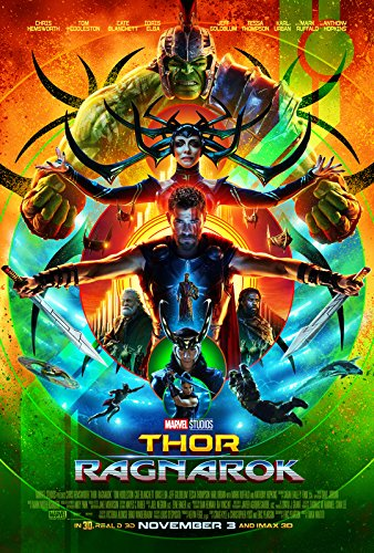 Import Posters Thor Ragnarok - US Movie Wall Poster Print – 30CM X 43CM Comic Con
