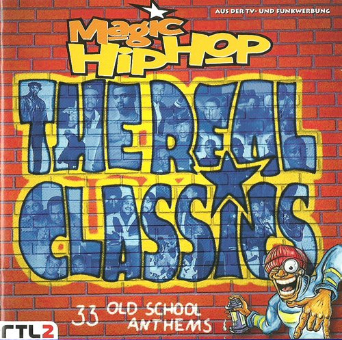 33 Oldschool Rap Hip Hop Anthems [Doppel-CD] (Old-school-cd)