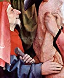 THE CROSS FOR CHRIST DETAIL 3 BY BOSCH ARTISTA QUADRO DIPINTO OLIO SU TELA DECO 120x100cm alta qualita