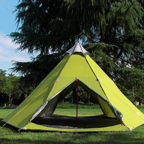 reputable site cf819 a2e65 Zimo reg; Outdoor Windbreak Pergola Tower Post Camping Mosquito Net Yurt  10x10' Teepee 5-6 Person Tent - UKsportsOutdoors