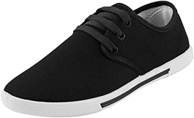 Sporter Men Black-349 Casual Sneakers Shoes