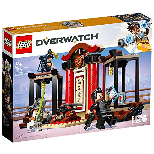 LEGO 75971 Overwatch Hanzo and Genji Building Kit, Multicolour Best Price and Cheapest