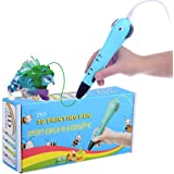 REES52 P65 3D Drawing Pen Best Intelligent Gift for Kid Printing Pen 3D Model (blue)