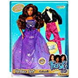 DPNY Girls Fresh Dolls Gabrielle Deluxe Fashion Doll Afro American With Spare Dress