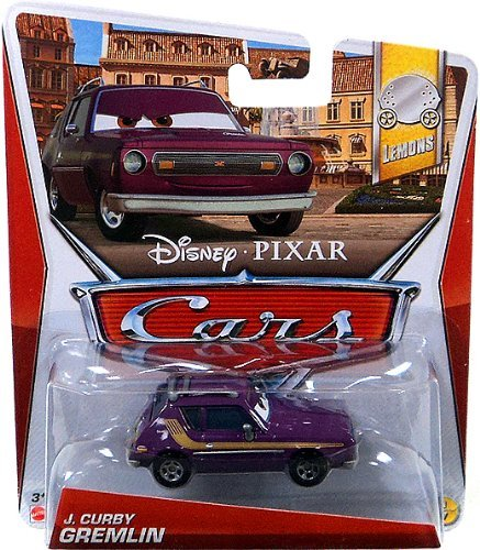 Disney Pixar Cars J. Curby Gremlin (Lemons Series, #1 of 7)