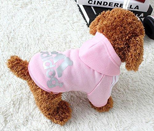 green-house-pet-dog-cat-sweater-puppy-t-shirt-con-cappuccio-cappotto-caldo-clothes-apparel-rosa-xl