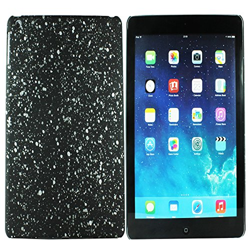 Heartly Night Sky Glitter Star 3D Printed Design Retro Color Armor Hard Bumper Back Case Cover For Apple iPad Air Tablet (iPad 5) - Champagne Silver  available at amazon for Rs.129