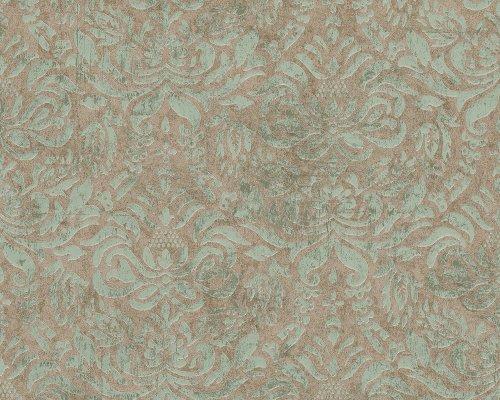 Preisvergleich Produktbild A.S. Création Tapete Bohemian, Mustertapete, klassisch, orientalisch, braun, grün, metallic, 945648