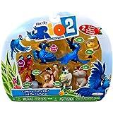 Rio 2 Movie Mini Figures 8-Pack [Nico, Pedro, Blu, Jewel, Luiz, Charlie, Nigel & Gabi]