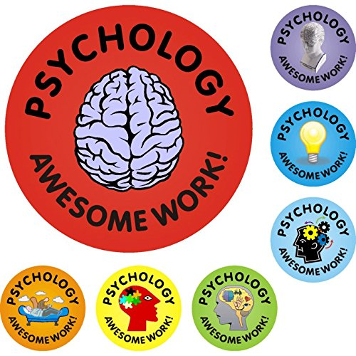 Psychology Awesome Work Reward Praise Stickers Test
