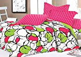 Lotus 144 TC Cotton Double Bedsheet with...
