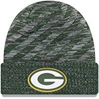 New Era Green Bay Packers 2018 Sideline Touchdown Knit NFL Beanie. See Size  Options aa22e8b6b
