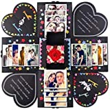 DIY Surprise Love Explosion Box for Anniversary Scrapbook Photo Album birthday Gift