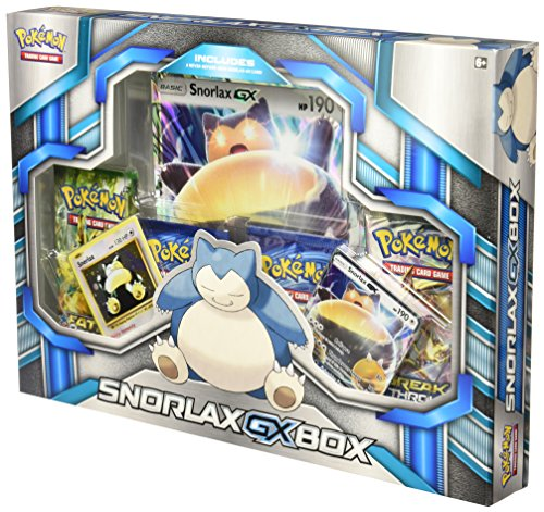 Pokemon Box Snorlax-GX - English