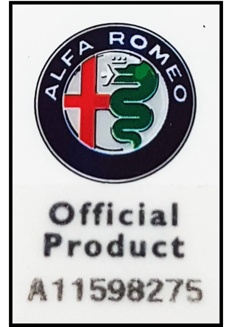 Toppe Adesive Alfa Romeo Ufficiali Quadrifoglio Verde 75 mm