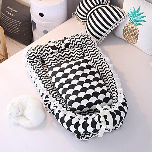 Baby Kinderbett Bett/Baby/Neugeborene Bionic Bed Isolation/Fit für 0–24Monate Baby (Quilt Set Liege)
