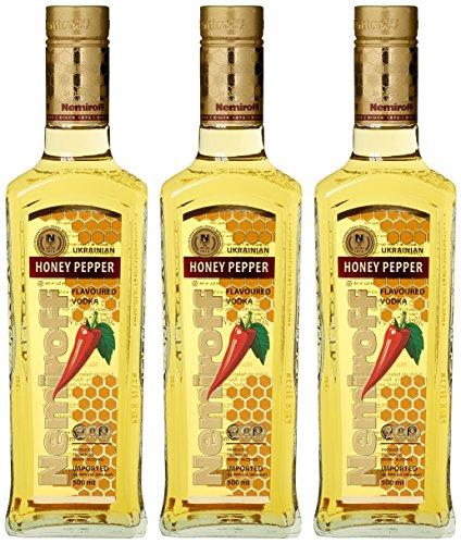 Nemiroff mit Honig und PeperoniSpirituose Wodka (3 x 0.5 l)
