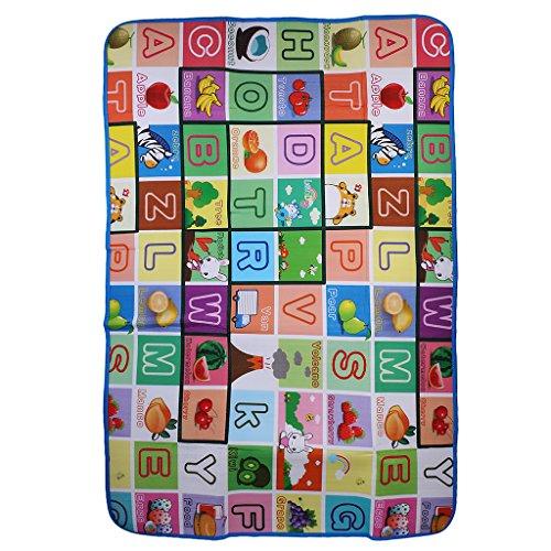 Weich Baby-Kind-Kleinkind Spielteppich Crawl Mat Spielmatte Babyschleichenmatte Picknick Decke - wie bild, 120 * 180 * 0.5cm