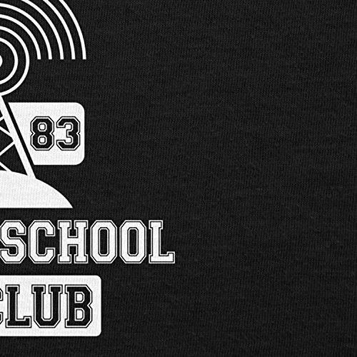 NERDO - Hawkins AV Club - Herren T-Shirt Schwarz