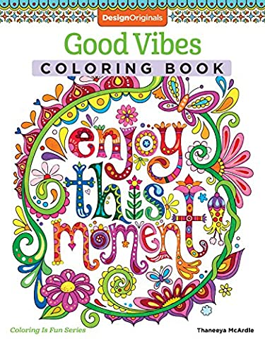 Good Vibes Coloring Book (Coloring Activity Book) (Coloring Is Fun)