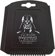 Auto Eiskratzer Eisschaber Star Wars Darth Vader schwarz mit Gummilippe