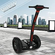 S de equilibrio scooter segwheel 1300W Eléctrico Roller Smart Wheel eléctrico E–Monopatín E Tarjeta, negro