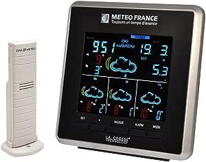 La Crosse Technology WD4025 Station météo France J+3 - Noir