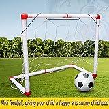 World Cup Sommer Mini Fußball Kinder Fußball Box Kindergarten Heim Indoor Outdoor Kleine Fußball Mini Portable zusammenklappbaren Fußball Net