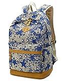 Leaper Vintage Canvas sehr Leichte Schulrucksack/Laptoptasche/Süße Rucksäcke/Daypacks