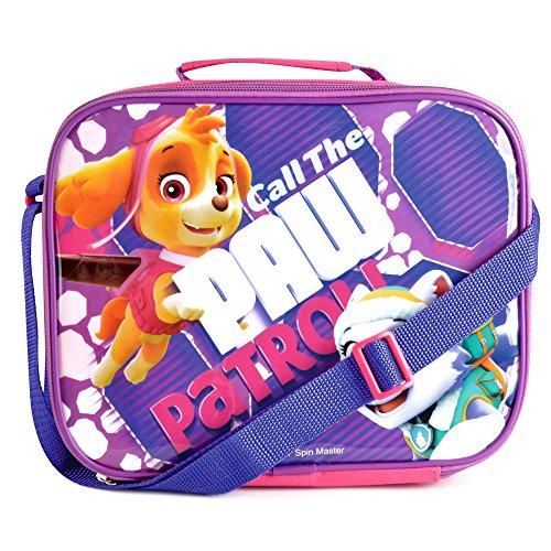 Kindergarten-Rucksack, Kinderhelden-Brotzeit-Tasche, isolierte coole Snack-Box, Kindergarten-Reisetasche, Textil, Girls - Call the Paw Patrol, Einheitsgröße (Kleinkind, Isolierte Lunch-box)