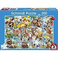 Schmidt Spiele 56294 Animal Selfies Puzzle