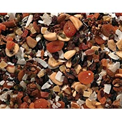 Johnston & Jeff Cage Bird Fruit Nut & Veg Mix Bird Food 700g