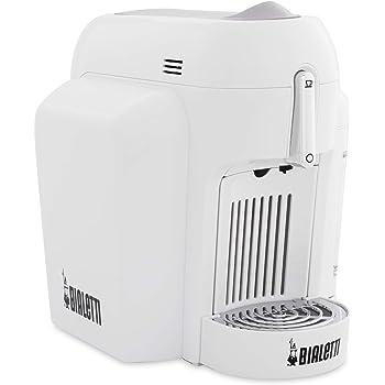 Bialetti Mini Express CF62 Independiente Totalmente automática Máquina de café en cápsulas 0.7L 1tazas Blanco - Cafetera (Independiente, Máquina de café en ...