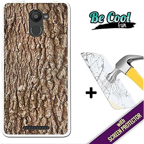 Becool® Fun - Funda Gel Flexible para Bq Aquaris U Plus, [ +1 Protector Cristal Vidrio Templado ] Carcasa TPU fabricada con la mejor Silicona, protege y se adapta a la perfección a tu Smartphone y con nuestro exclusivo diseño. Corteza de