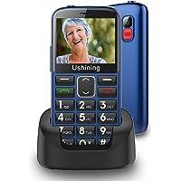 Seniorenhandy ohne Vertrag mit großen Tasten 2,3 Zoll,Ukuu GSM Tastenhandy Dual SIM Handy SOS Notruftaste Ladestation…