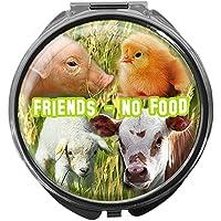 Pillendose/rund/Modell Leony/Veggies/FRIENDS - NO FOOD preisvergleich bei billige-tabletten.eu
